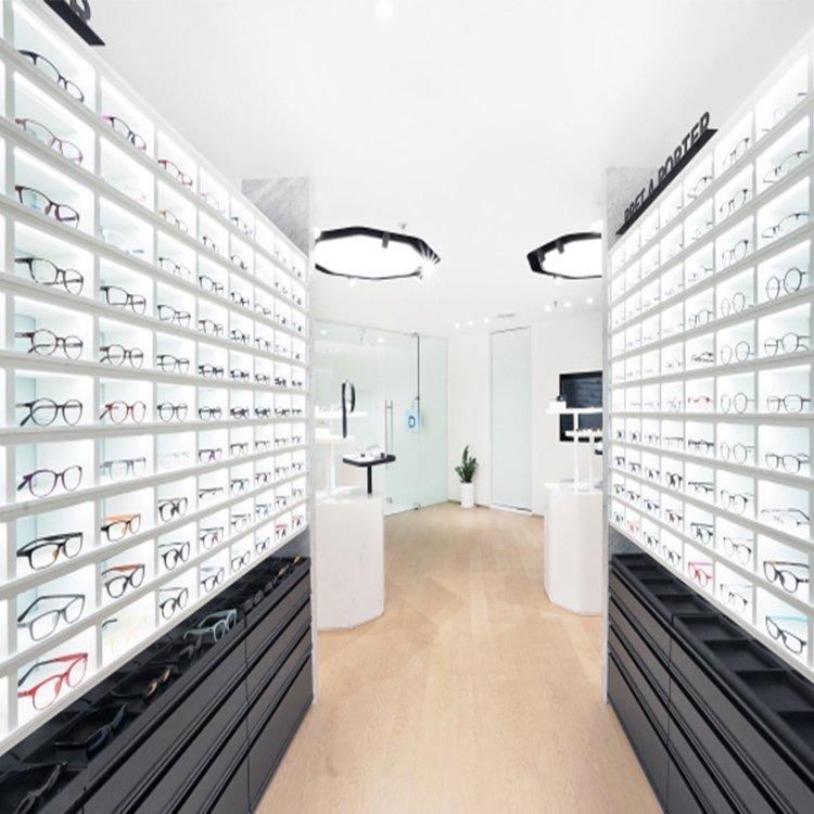 Attractive modern sunglasses display case for sunglasses sale