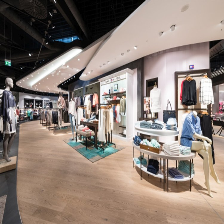 Customized display furniture for clothing store