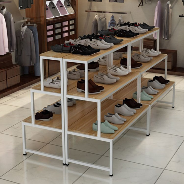 Hot sale factory price shoes gondola shelf for shoes display