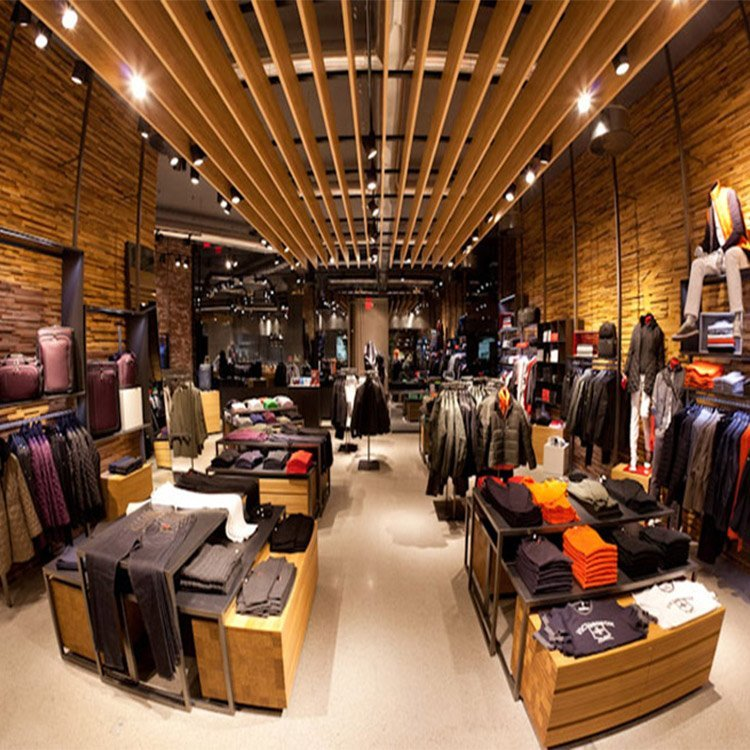 Professional provide various attractive clothing shop interior design
