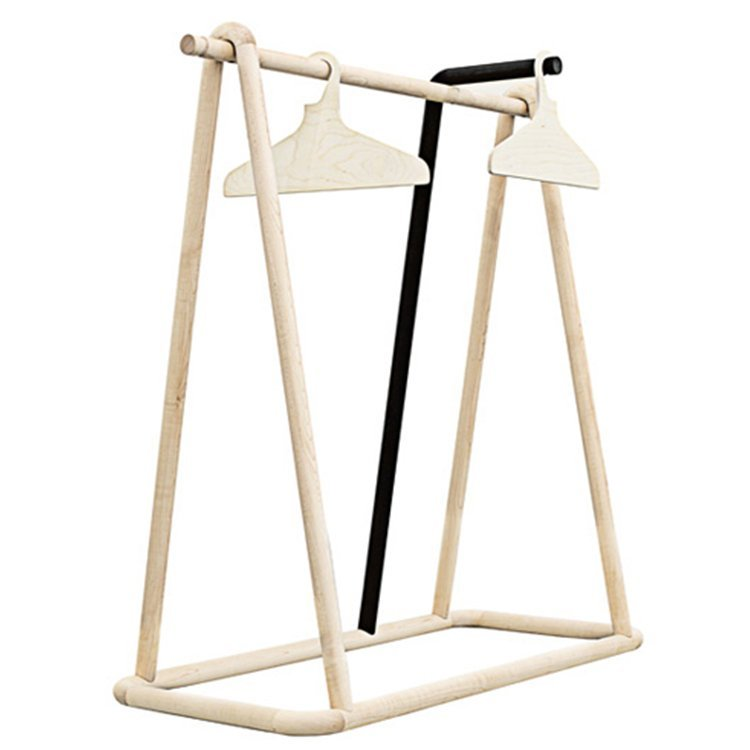 Factory price wholesale customized size wooden clothes hanger