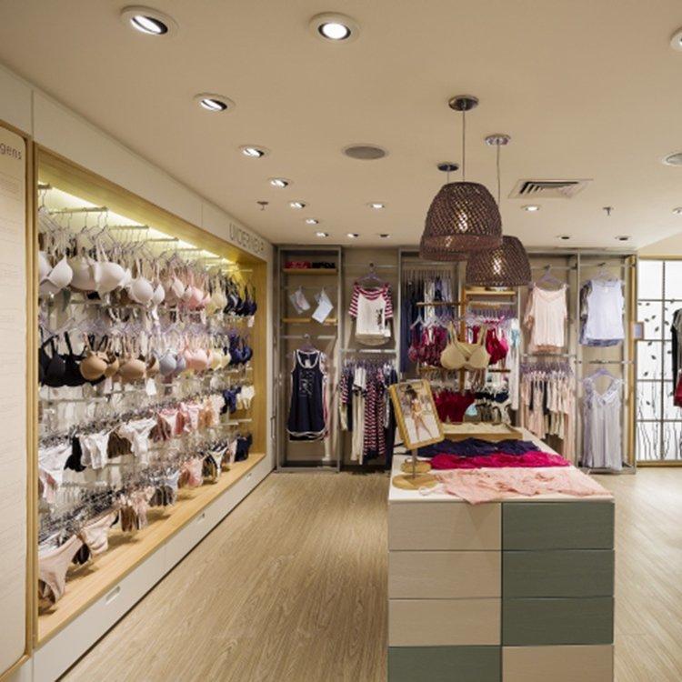 Exhibition equipment display online retail underwear store