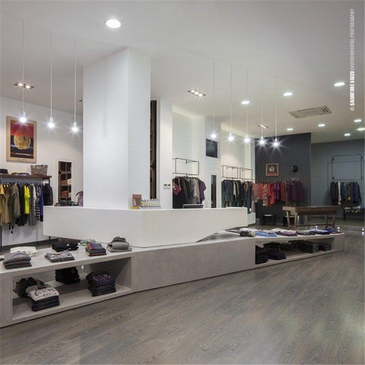 Hot sale simple shop counter design store counter for garment sale