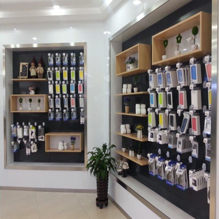 Professional mobile shop interior design for mobile phone display