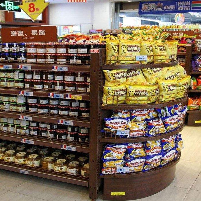 Customized stable retail display racks