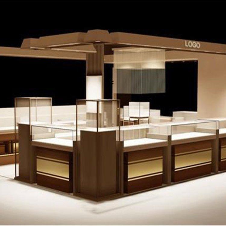 Fancy jewelry display kiosk for sale