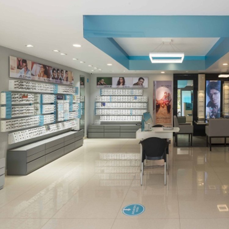 Factory customized elegant optical shop display rack for eyeglasses sale