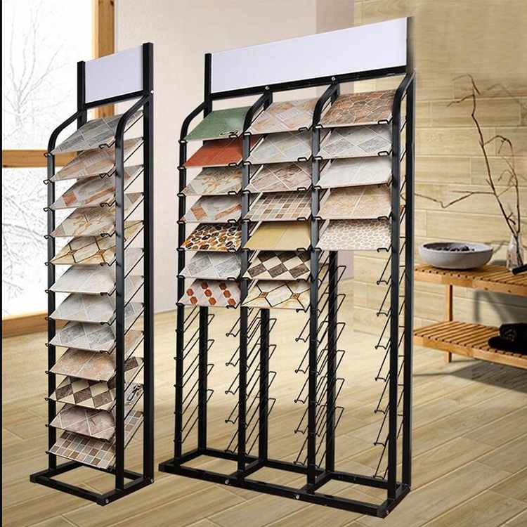 Factory customized wholesale tile store display rack for tile sale
