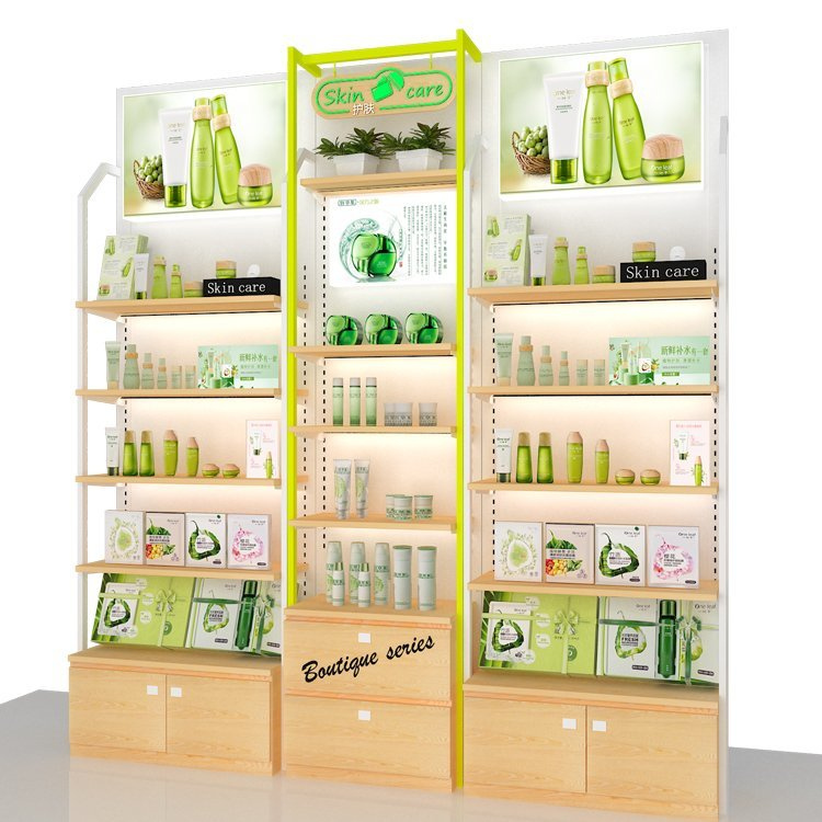 Factory price customized cosmetic display stand