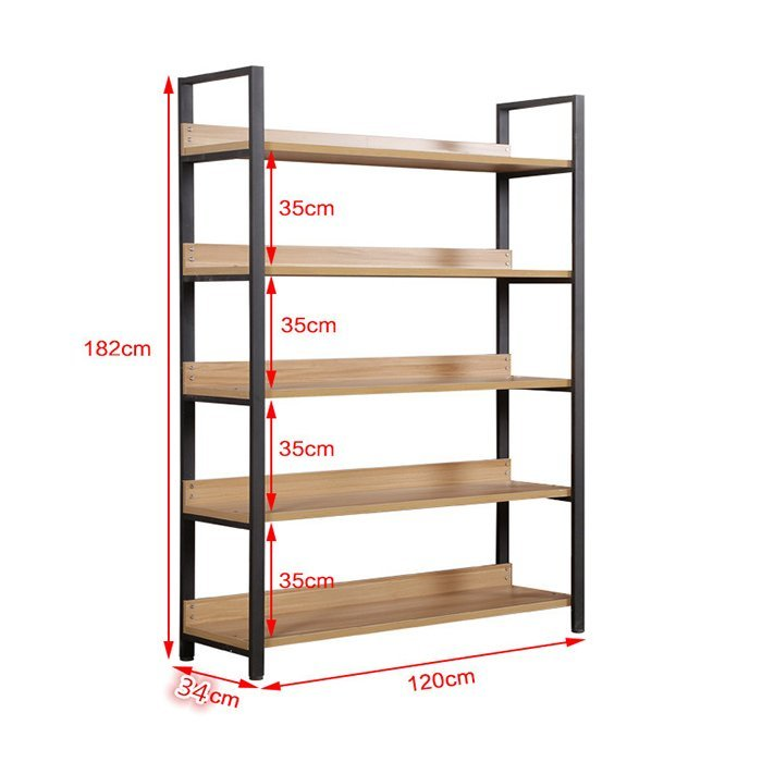 Factory price hot sale storage display shelf