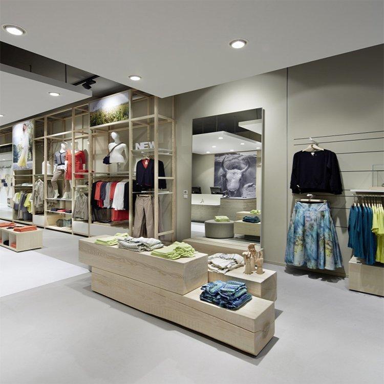 Customized furniture shop counter for garment shop decoration furniture