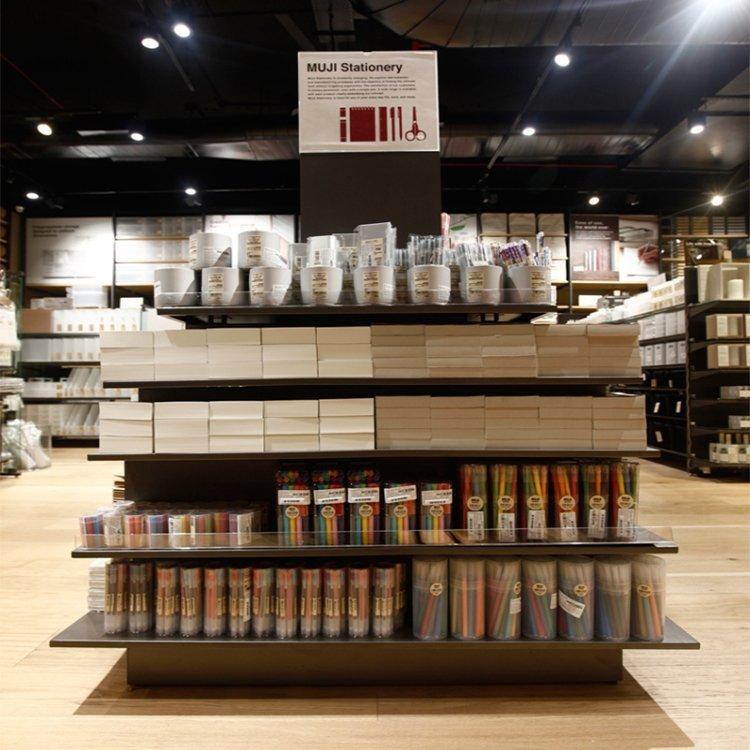 High grade attractive stationery shop furniture design