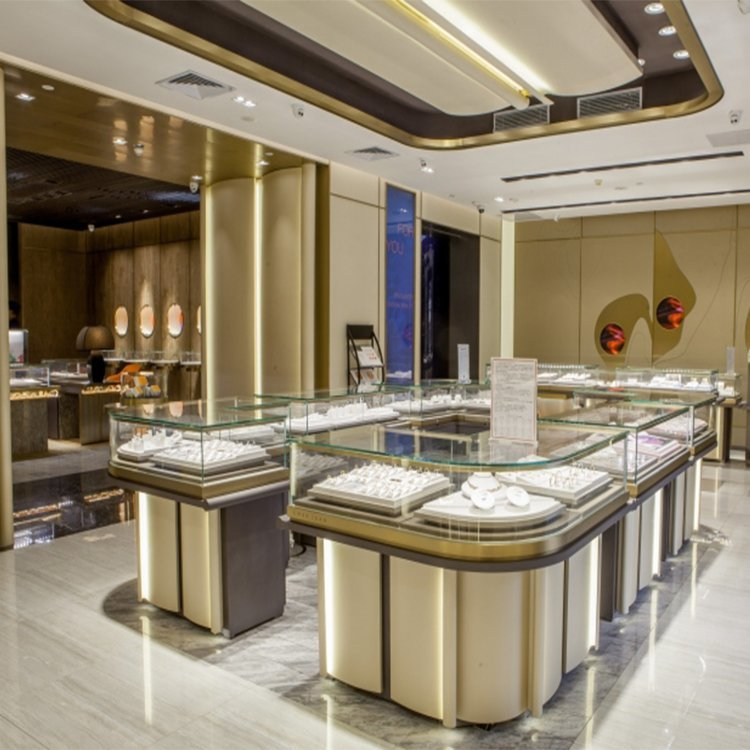 Fashional attractive interior design ideas jewellery shops