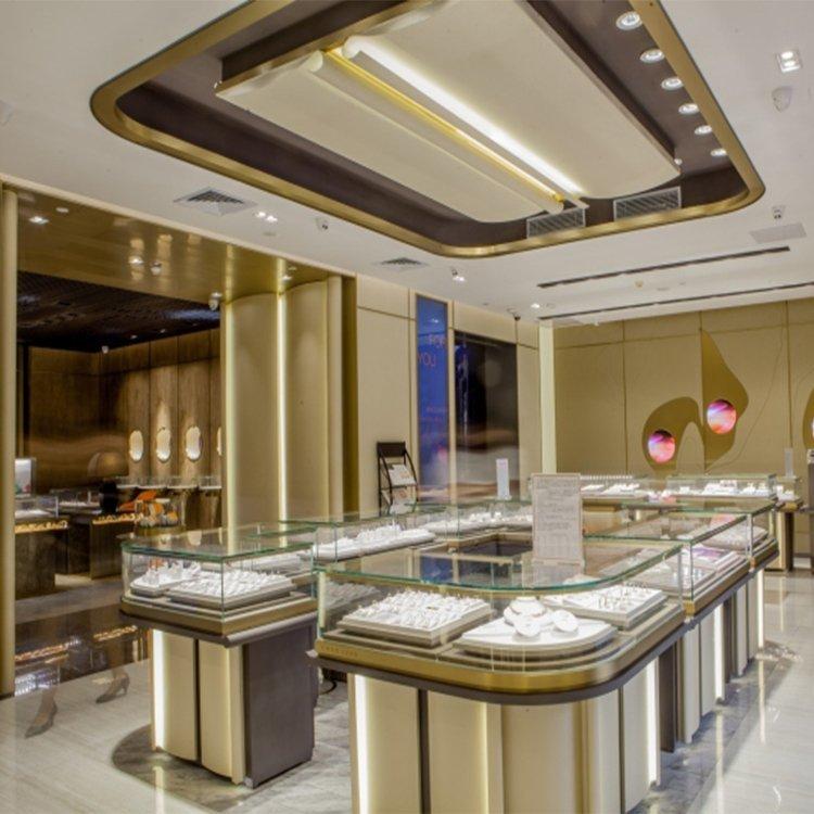 Fashional attractive interior design ideas jewellery shops