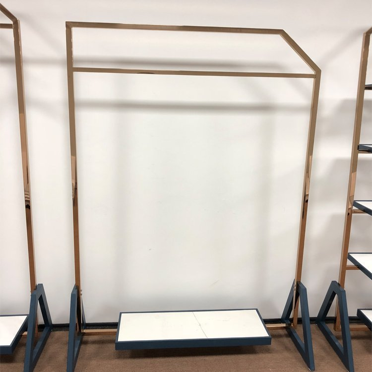 Factory direct sale wholesale popular clothing display rack for clothing sale